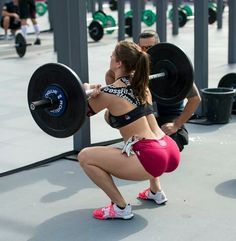 Front squat. One of my faves.
