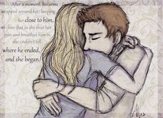 """Chaol,"""" she said, grabbing his hand and whirling him to face her. She only saw the haunted gleam in his eyes before she threw her arms aroun..."""