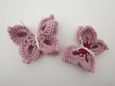 Schmetterling häkeln * Anleitung * Crochet Butterfly [eng sub], My Crafts and DIY Projects