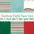 Six Christmas papers-3 textured, 3 patterns-for you to use!  Each paper is 12x12 and was created at 300 dpi.    Purchase the coordinating Christmas C...