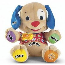 Best Toys for 6 Month Old Babies: Fisher Price Laugh & Learn Learning Puppy