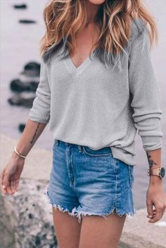 Casual Pullover Sweater