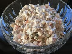 Russian meat salad as my husband makes it - Fleisch Veggie Recipes, Wine Recipes, Salad Recipes, My Favorite Food, Favorite Recipes, Tuscan Recipes, Meat Salad, Cold Dishes, Christmas Dishes