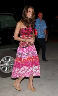 Kate Middleton in a Tube Dress