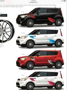 Ed Voyles Kia >> Kia Soul Rally Stripe Graphic kits that are Precut and ...