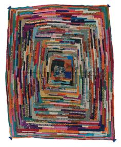 Gudari quilt, made in Maharashtra, India, circa 2000, Gift of Geeta Khandelwal, 78.5 x 63.5 in, IQSCM 2009.049.0007