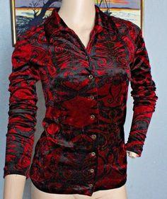 BETSEY JOHNSON Girls Outfit JACKET SHIRT LEGGINGS Red Black Velvet Roses NEW NWT