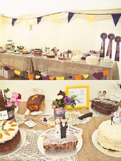 wedding cake table http://www.hannahmillardphotography.com/