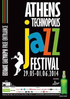 14o athens technopolis jazz festival   Η «Τεχνόπολις» του Δήμου Αθηναίων ανανεώνει το ραντεβού της με τη τζαζ για 14η συνεχή χρονιά   29 Μαΐου - 1 Ιουνίου 2014  http://www.jazz-radio.gr/14o-athens-technopolis-jazz-festival/  #atjf2014 #athens #technopolis #jazz #festival #jazzradiogr