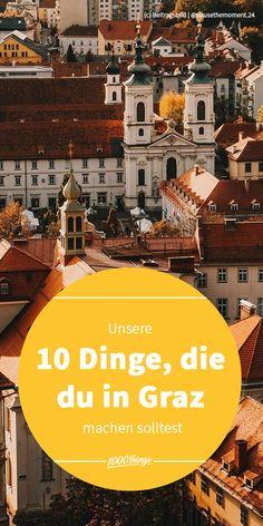 Lust auf einen Städtetrips in das schöne Graz? 🎡 Dann kommt unsere Liste voll an Inspiration ja genau zur richtigen Zeit. 😉