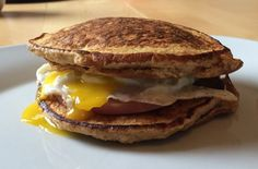 Bacon and Egg Sweet Potato Pancake Breakfast Sandwich | fastPaleo Primal and Paleo Diet Recipes