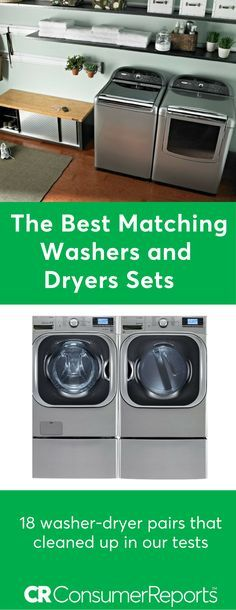 Matching washer and dryer pairs are a popular choice although some don't make a great couple. Their coordinating style makes a statement, but you'll question how a terrific washer and a noisy dryer that's tough on clothes ended up together. Enter the matchmaker. Consumer Reports' tests found pairs that are worth a look.
