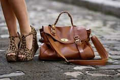 Mulberry and leopard shoes! Love!