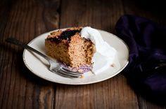 Salt-kissed Buttermilk Olallieberry Cake (Use Raspberries)