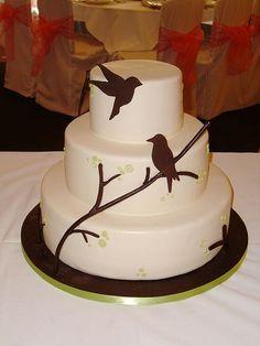 Wedding cake...love birds?