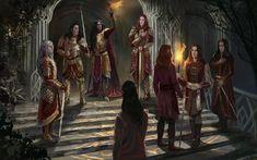 Legolas, Thranduil, Glorfindel, Morgoth, Elf Art, Jrr Tolkien, Middle Earth, Lord Of The Rings, Fantasy Characters