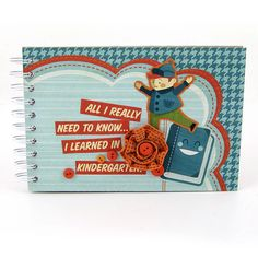 Mini books are great to use for school project. #wermemorykeepers #cinchtool #minialbums