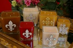 Luxurious highly scented candles with so many fantastic fragrance & embellishments to choose from.... click here to see.  www.facebook.com/SCCandles