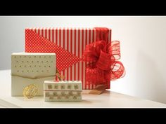 How to Wrap a Gift for Girls - 11th DIY of Christmas - YouTube