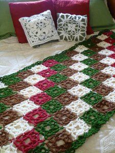 Compass Rose Afghan