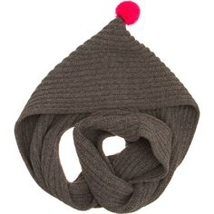 Hood loop with pompom None from Jo Gordon