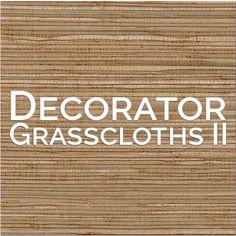 Muestrario Decorator Grasscloths II | Nacional de Tapiz