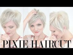 getlinkyoutube.com-Behind the Scenes: Pixie Haircut and Platinum Color