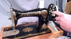 This video demonstrates How to Wind Round Bobbins and Thread The Bobbin Case for Vintage or Antique Singer Treadle or Electric Sewing Machine models 15-30, 1...