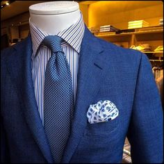 Never Enough Blue Suits!
