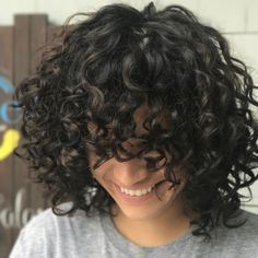 "273 Likes, 5 Comments - Christin Brown (@curlfactor) on Instagram: ""Sometimes you have to bang it out ✂️ #curlfactor #curlybangs #curls #curly #curlygirl #devacut…"""