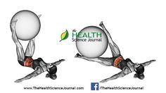 © Sasham | Dreamstime.com - Fitball exercising. Pendulum legs with fitball. Female