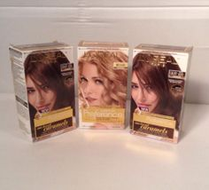 L'Oreal Paris Preference Hair Color 1 Golden Blonde 8G ~2 Medium Brown UL51