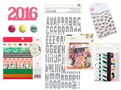 Revealing our December 2015 Embellishment kit featuring exclusive Flair Badges designed by @kjstarre @cratepaper @americancrafts @shopfreckledfawn #december2015 #hipkits #hipkitclub  #americancrafts #studiocalico #cratepaper #maggieholmes