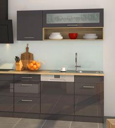 Küchenzeile 300 Cm Küchen Design, Kitchen Cabinets, Home Decor, Culinary Arts, Decoration Home, Room Decor, Cabinets, Home Interior Design, Dressers
