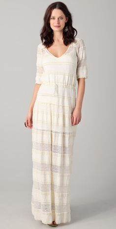 Lace Maxi dress by Of Two Minds