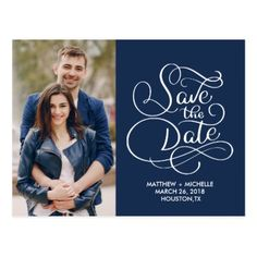 save the date postcard - married gifts wedding anniversary marriage party diy cyo Wedding Invitation Templates, Wedding Stationary, Wedding Invitations, Picture Logo, Save The Date Postcards, Diy Funny, Engagement Gifts, Cool Gifts, Customized Gifts