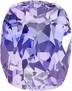 Gorgeous Genuine Unheated Lilac Colored Loose Sapphire Purple Gemstone for SALE - AGL Certified, Cushion Cut, 1.3 carats