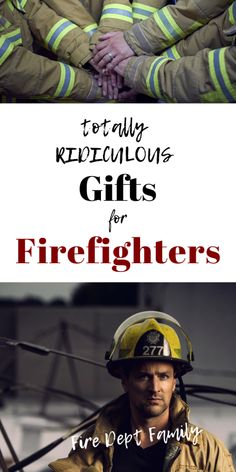 Ridiculous (But Awesome) Firefighter gifts Firefighter Training, Firefighter Family, Firefighter Paramedic, Firefighter Decor, Fire Hose, Light My Fire, Crazy Socks, Fire Dept, Firefighters