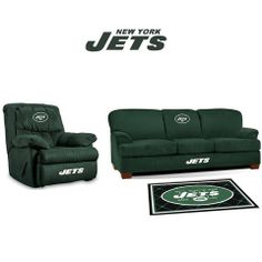 Use this Exclusive coupon code: PINFIVE to receive an additional 5% off the New York Jets Microfiber Furniture Set at SportsFansPlus.com