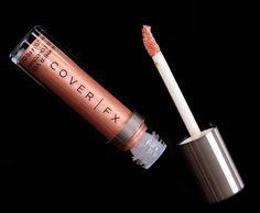 03 /08 Cover Fx Cosmetics, Liquid Highlighter, Warm Undertone, Veil, Swatch, Eyeliner, Lips, Glitter, Face