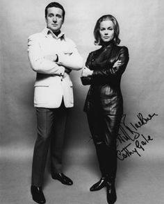 Patrick Macnee and Honor Blackman in The Avengers
