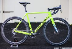 Garneau's new Steeple XC cyclocross bike comes in Garneau Easton team colors and the Copper T-Flex shoe matches up nicely. Also, custom paint options for Garneau frames and helmets will soon be offered.