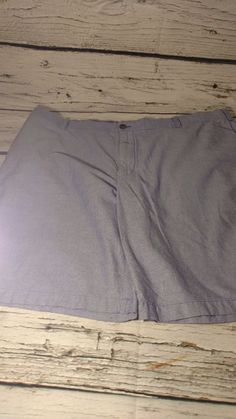 Men's Izod Chambray Preppy shorts sz 42 #IZOD #FlatFront