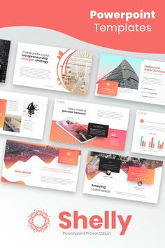 Top 5 reasons you need a newsletter for your little biz art shelly is a modern powerpoint template with nice looking gradient colors this template is really spiritdancerdesigns Images