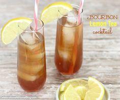bourbon iced teaBourbon Iced Tea ◾4 oz lemon flavored iced tea {Lipton 100 Calorie Half & Half (Tea & Lemonade)} ◾1 1/2 oz bourbon ◾3/4 oz pomegranate juice  Combine all ingredients together over ice. Garnish with lemon slice.