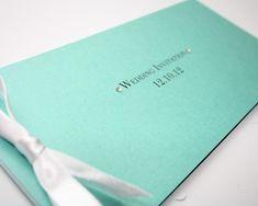 Invitacion de boda en azul tiffany