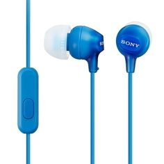 Sony Fashion Color EX Earbuds, Blue