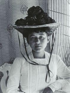 Harriet Bosse, Furusund 1904 Fotografiskt tryck