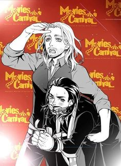 Thorki...it looks like Thor has boobs...