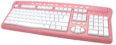 For the Ultimate Office Princess - the Pink Bling Keyboard!